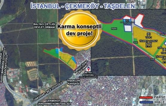 Emlak Konut Çekmeköy Taşdelen arsa ihalesi 23 Mart'ta!