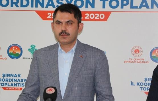 Murat Kurum: Riskli binaların tespitlerini yaptıralım ve oturmayalım!
