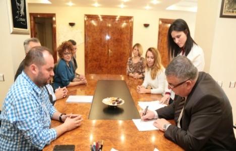 Kırklareli Kollektor Hattı projesinde imzalar atıldı!