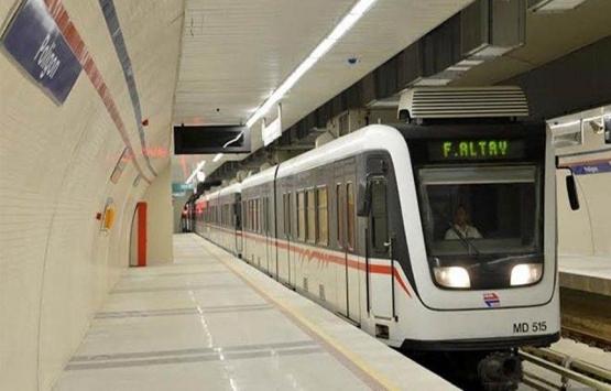 İzmir metro çalışmalarında