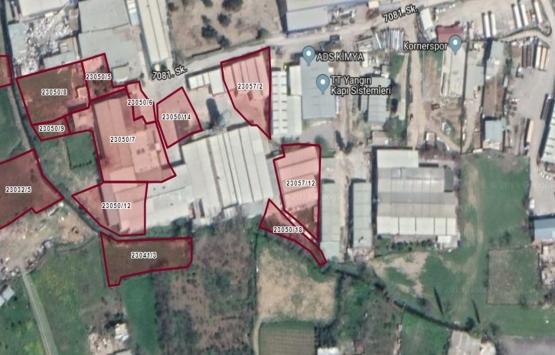 Bornova'da 11.7 milyon TL'ye icradan satılık meyve bahçesi ve fabrika binası!