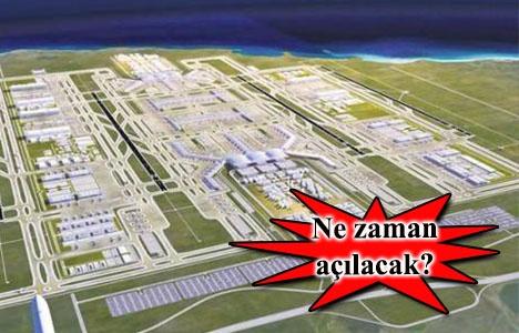 3.Havalimanı'nın açılışı erkene
