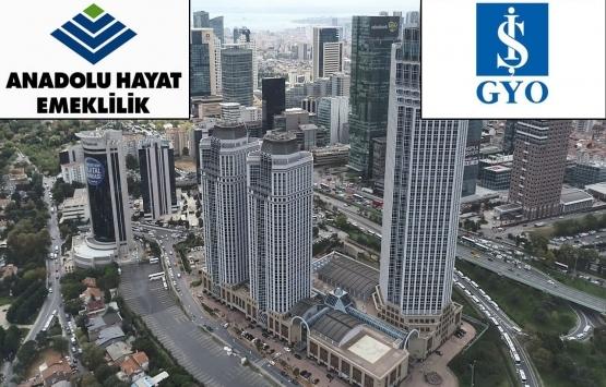 Anadolu Hayat Emeklilik, İş Kuleleri Kule-3'ten 5 yıllığına ofis kiraladı!