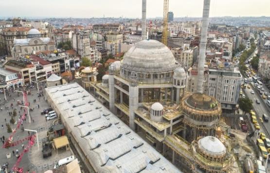 Taksim Cami'nin kaba