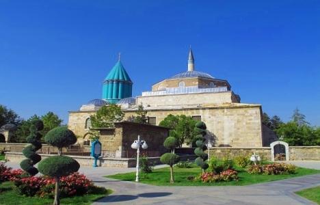 Mevlana Müzesi Türkiye'de