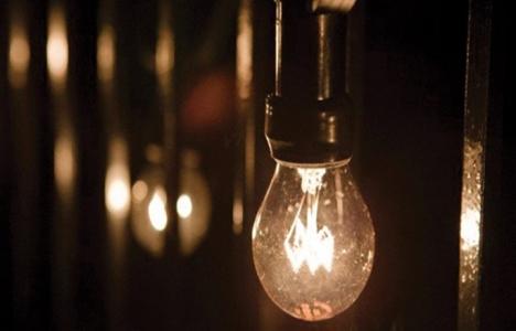 İstanbul'da 9 saatlik elektrik kesintisi 24 Mart 2015!