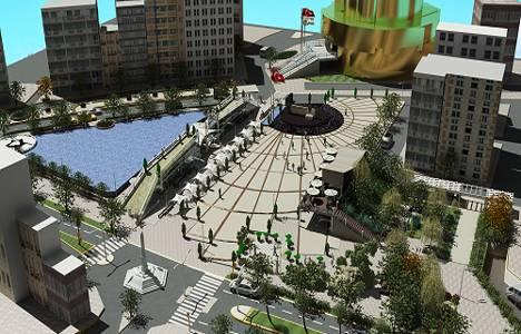 Aydın Atatürk Kent Meydanı projesinde çalışmalar devam ediyor!