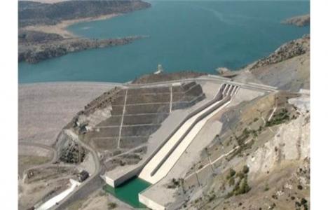 Melen Barajı'nın inşaatı