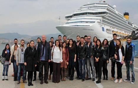 İzmir'in kruvaziyer turistinde