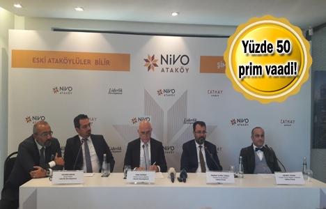 Nivo Ataköy'ün relansmanı yapıldı! 490 bin TL'ye!
