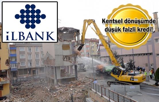 İLBANK'tan kentsel dönüşüm kredisi!
