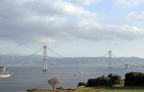 İzmit Körfez Geçiş Köprüsü'nde 220 halattan 144'ünün montajı tamamlandı!