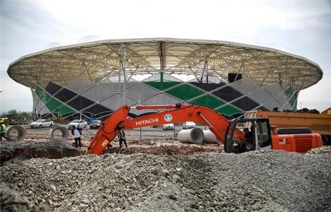 Yeni Sakarya Stadyumu'nun altyapısı SASKİ'ye emanet!