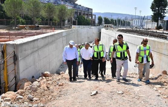 İzmir'de metro yatırımları