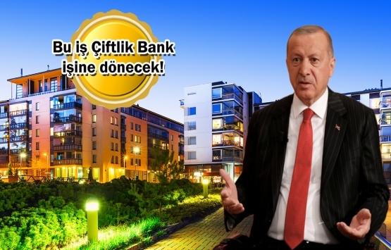 Cumhurbaşkanı Erdoğan'dan faizsiz konut sistemiyle ilgili talimat!
