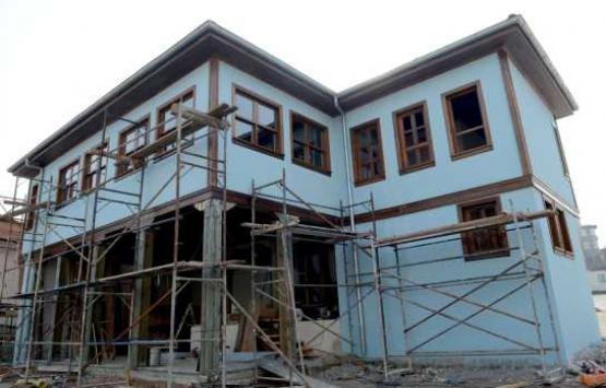 Bursa'da tarihi binalar restore ediliyor!