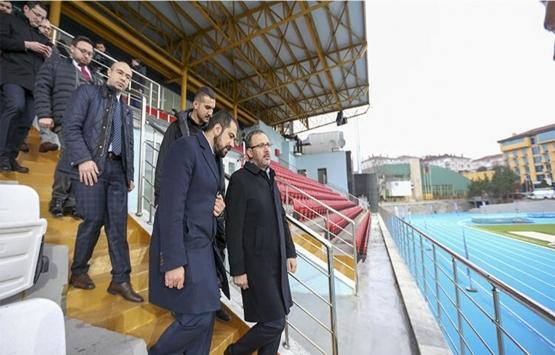 Burhan Felek Stadı bugün açılıyor!
