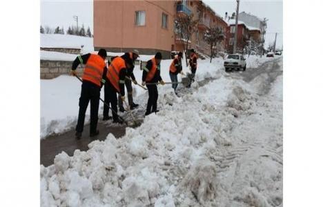Odunpazarı Belediyesi'nden kar