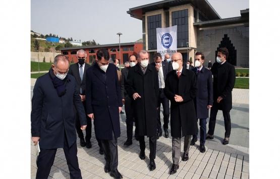 Marmara Üniversitesi Recep Tayyip Erdoğan Külliyesi inşaatında son durum ne?