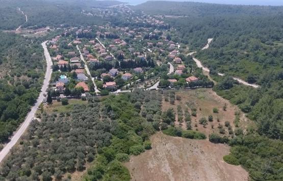 Urla Yağcılar Köyü'nde milyon dolarlık villalar inşa ediliyor!