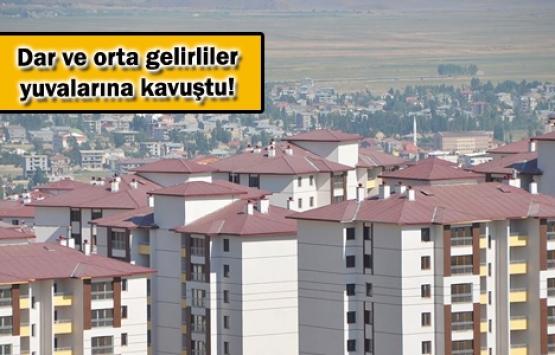 TOKİ Ekim'de 6 bin 159 aileyi ev sahibi yaptı!