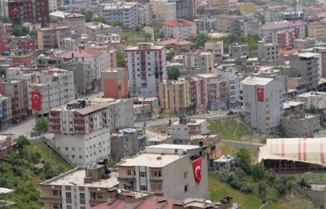 Şırnak'ta 5 mahalle