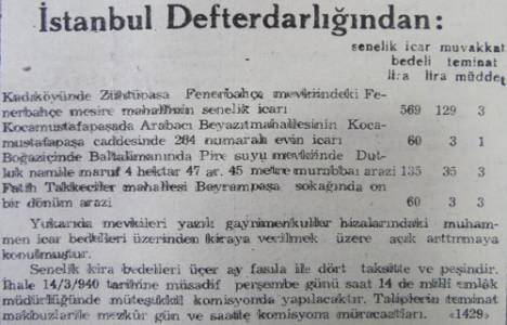 1940 yılında Sarıyer