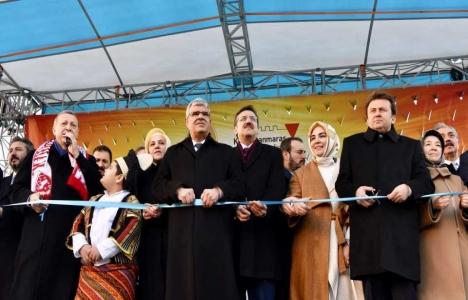 Kahramanmaraş'ta 569 milyon