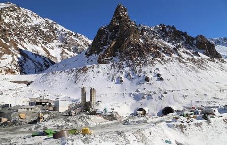 Ovit Tüneli'nin betonlama çalışması yüzde 88 tamamlandı!