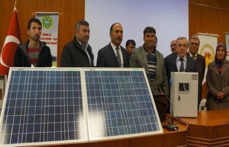 Adana'da arıcı ve göçerlere seyyar enerji sistemi dağıtıldı!