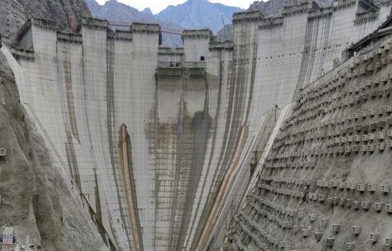 Yusufeli Barajı'nın tamamlanmasına son 4 metre!