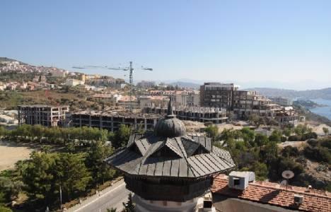 Kuşadası'ndaki otel inşaatı