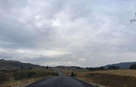 Manisa Selendi'de sıcak asfalt çalışmaları başladı!