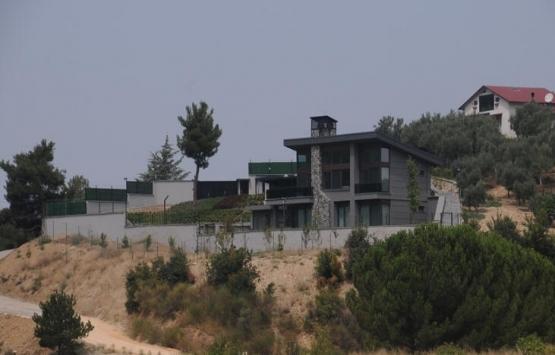 Turgay Erdem'in villasının