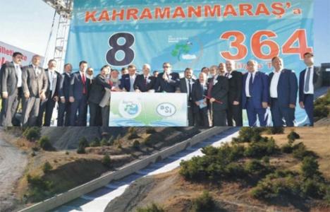 Kahramanmaraş'a 364 milyon liralık yatırım!