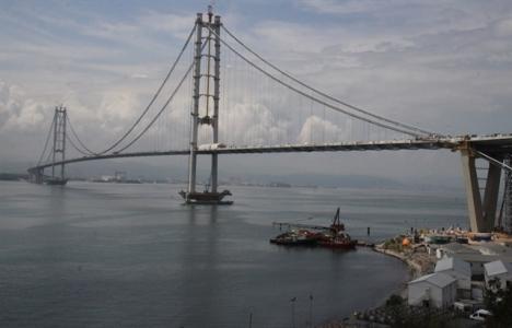 Osmangazi Köprüsü Dilovası'nda