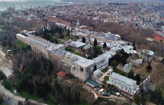 Topkapı Sarayı'nın restorasyonu havadan görüntülendi!