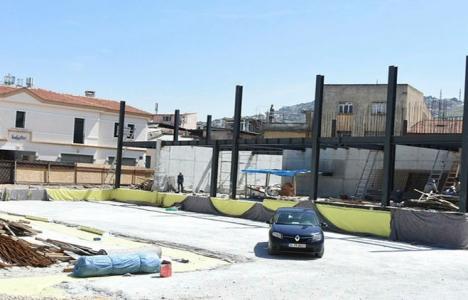 İzmir Balıkçılar Meydanı zamanında tamamlanamayacak!