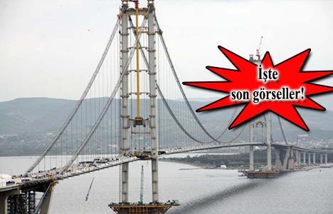 İzmit Körfez Geçiş Köprüsü'nde son 340 metre!