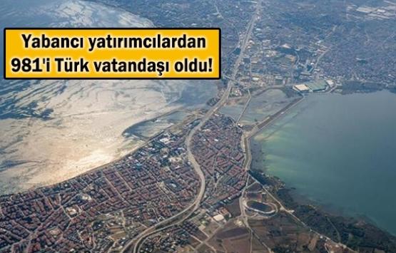 Yabancı gayrimenkul yatırımcıları Türk vatandaşı oldu!