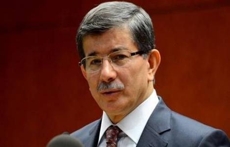 Başbakan Davutoğlu'ndan dar