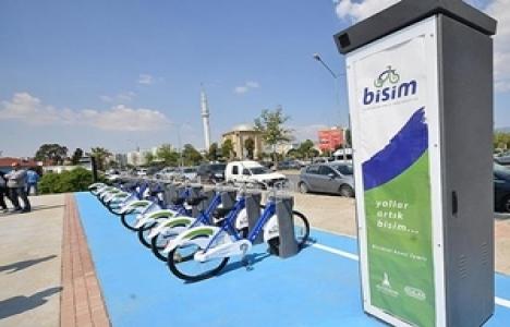 İzmir'de bisiklet toplu
