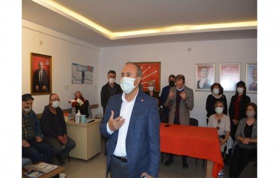 CHP Ayvalık İlçe Başkanı Hüseyin Şalmanlı'dan imar alanı açıklaması!