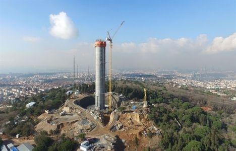 Çamlıca Kulesi'nin 220