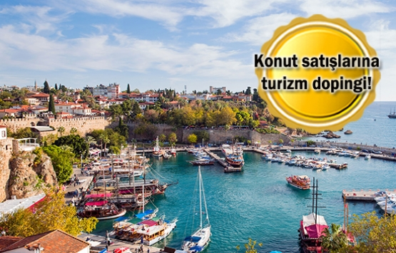 Antalya yabancıya konut