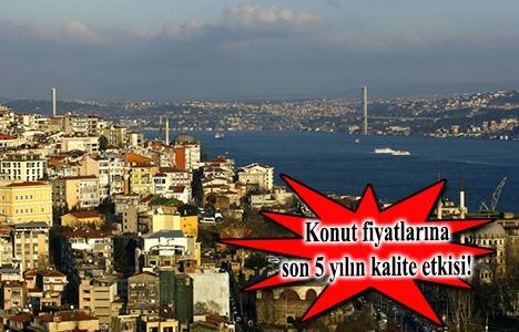 İstanbul konutta kalite