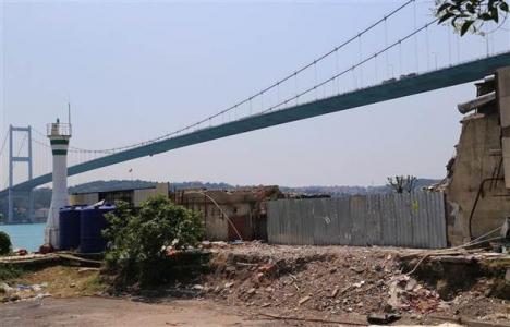 Boğaz'da yıkılan kaçak