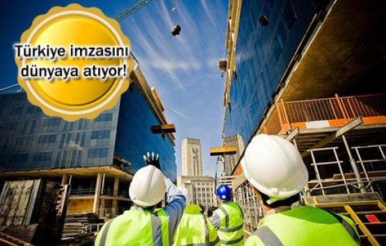 Türk müteahhitler dünyayı