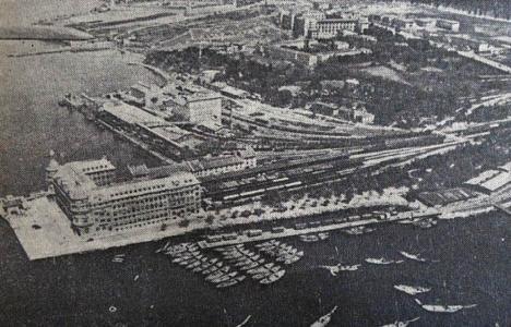1936 yılında Haydarpaşa