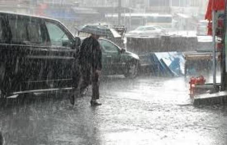 Marmara Bölgesi'ne yağış geliyor!
